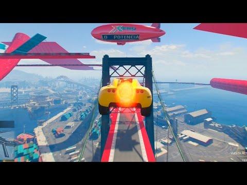 GTA V ONLINE: NUEVAS SUPER CARRERAS A REACCIÓN!! ROCKET VOLTIC