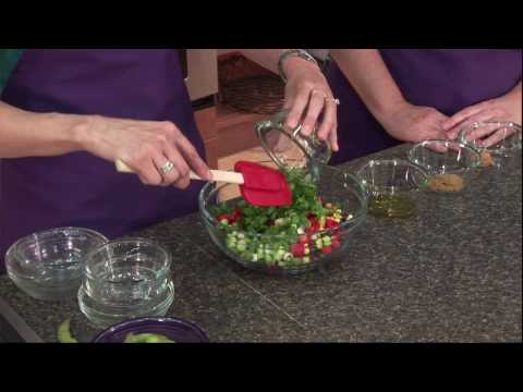 Black Bean, Edamame, and Corn Salad