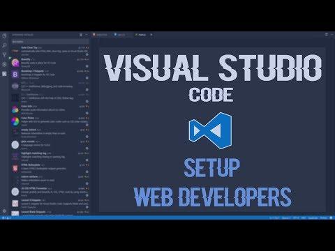 Visual Studio Code Web Development Setup And Extensions