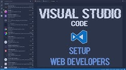 Visual Studio Code Web Development Setup and Extensions