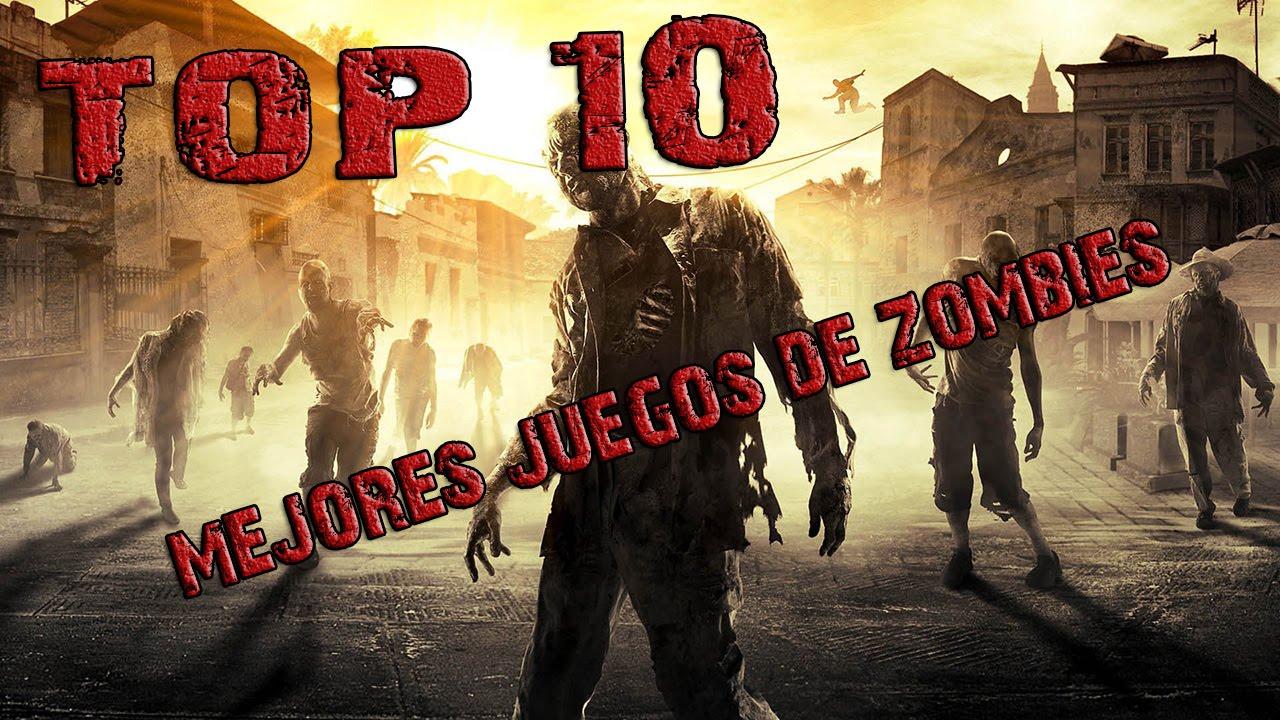 Top 10 Mejores Juegos De Zombies Youtube