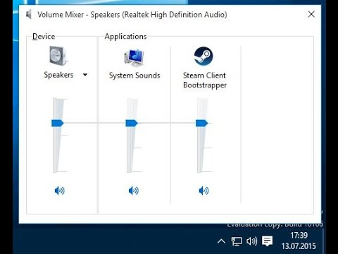 How to enable the old Volume control in Windows 10
