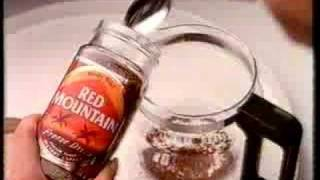 Old Advert for Red Mountain Coffee  - Sara Crowe