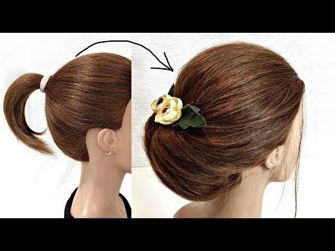 Как можно сделать прическу самой себе на короткие волосы