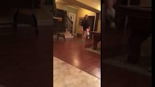 power juggling & walking