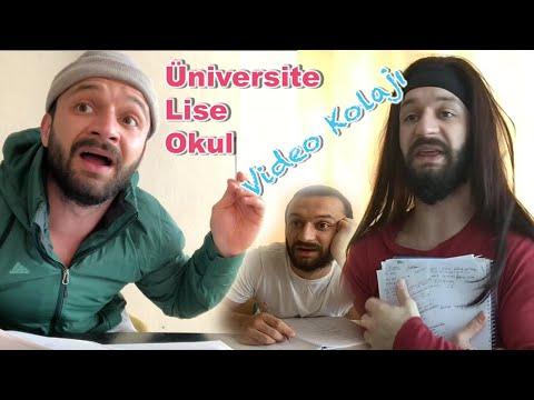Okul & Lise Temalı kolaj - Aykut Elmas