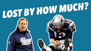 The WORST BEATDOWNS Tom Brady and Bill Belichick EVER RECEIVED