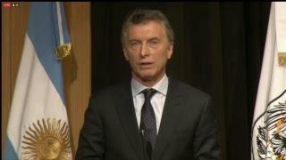 El presidente Mauricio Macri participa de la Cumbre de Alcaldes U20