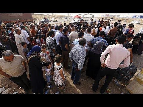 Irak : les habitants de Mossoul fuient vers Erbil