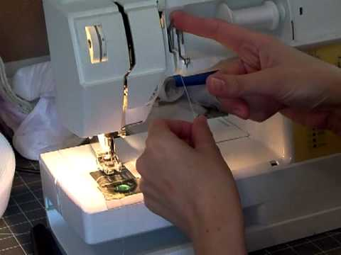 How To Thread A Sewing Machine YouTube Magnificent Husqvarna 610 Sewing Machine