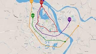 Các tuyến đường vành đai 1 | 2 | 3 Hà Nội