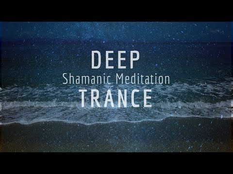 1 Hour Shamanic Meditation - Ultra Deep Calm - Trance Music, Ocean Waves | 008