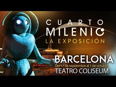 Exposici n cuarto milenio en barcelona youtube Exposicion cuarto milenio en valencia