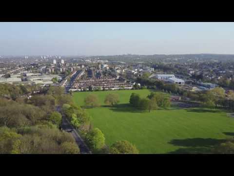 brunswick park southgate london DJI MAVIC PRO HD