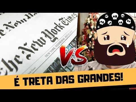 NOSSA TRETA COM NANDO MOURA NO NEW YORK TIMES