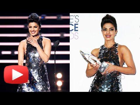 (VIDEO) Priyanka Chopra Wins Favourite Actress Award for Quantico - People's Choice Award 2016
