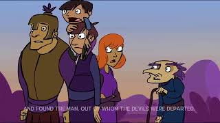 The Man Possessed with Devils - Bible Kids Cartoons