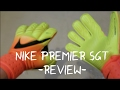 Nike Premier SGT Goalkeeper Gloves Review Unboxing