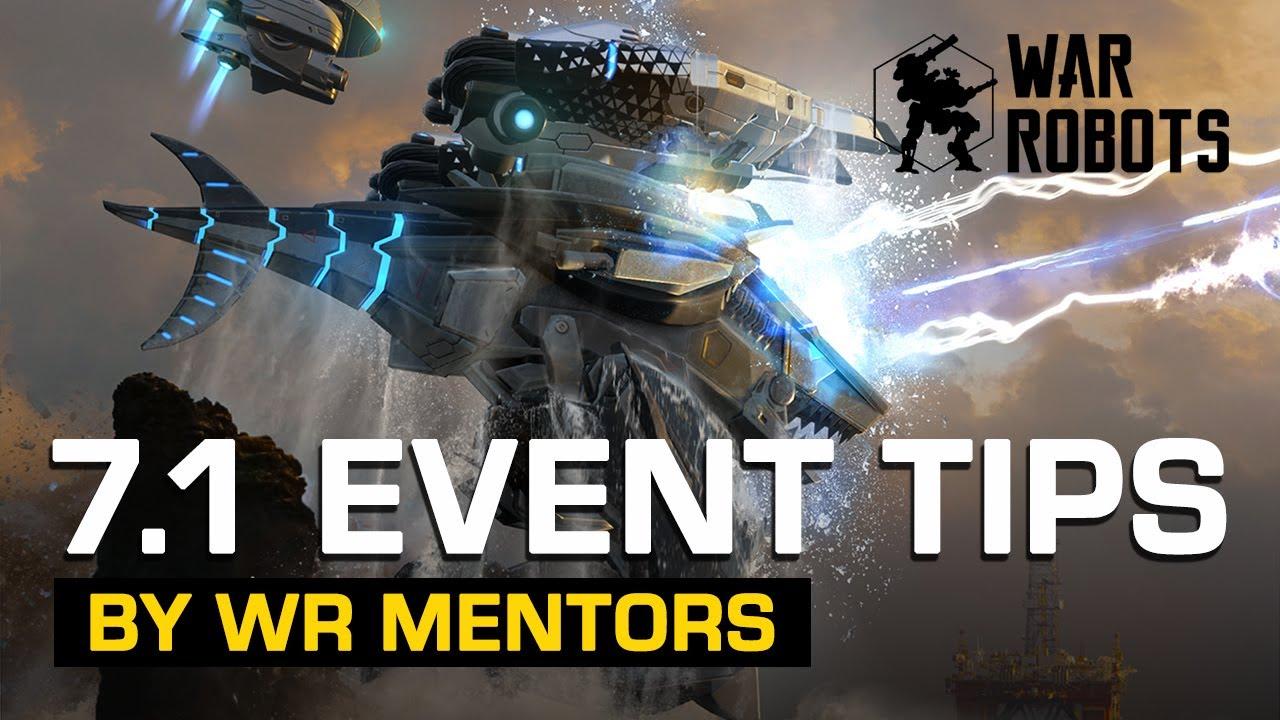 TIPS for EVENT TASKS by WR Mentors - War Robots 7.1