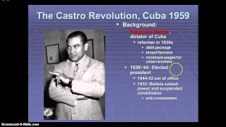Origins of the Cuban Revolution