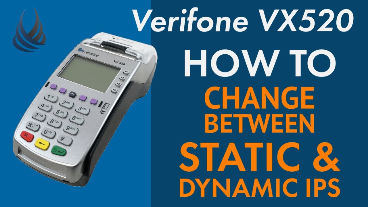 VX520 : How To: Switching between Dynamic and Static IP