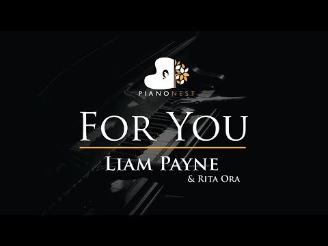 Liam Payne & Rita Ora - For You - Piano Karaoke / Sing Along / Cover with Lyrics