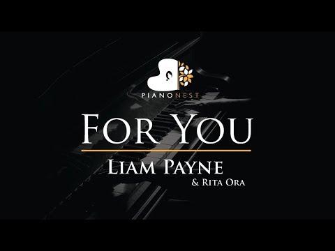 Liam Payne & Rita Ora - For You - Piano Karaoke / Sing Along / Cover with Lyrics