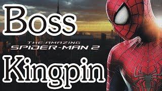 The Amazing Spider Man 2 Kingpin Boss Fight - Boss Gameplay Walkthrough