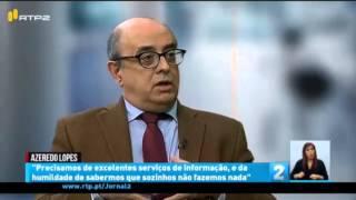 Entrevista ao Ministro da Defesa, Azeredo Lopes, no Página 2 da RTP2.