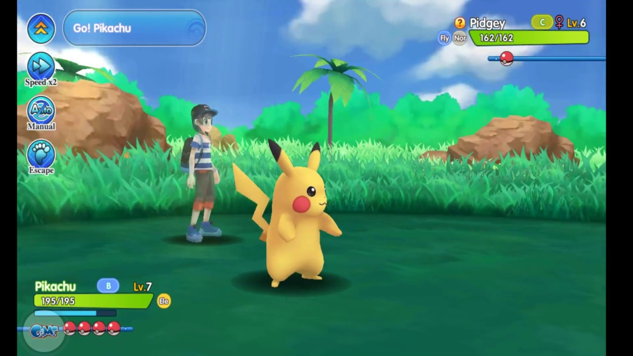 3d Open Pocketown Android And Ios 3d Open World Rpg Pokemon Game Capture All Pokemons