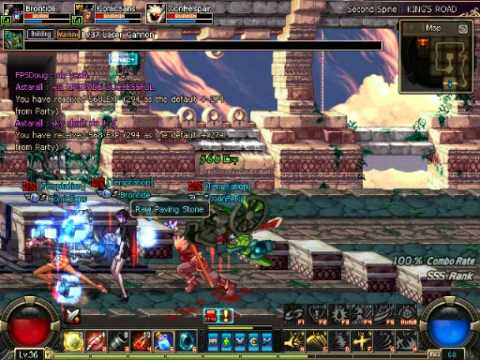 Dungeon Fighter Online - Second Spine Kings - Temptation Style