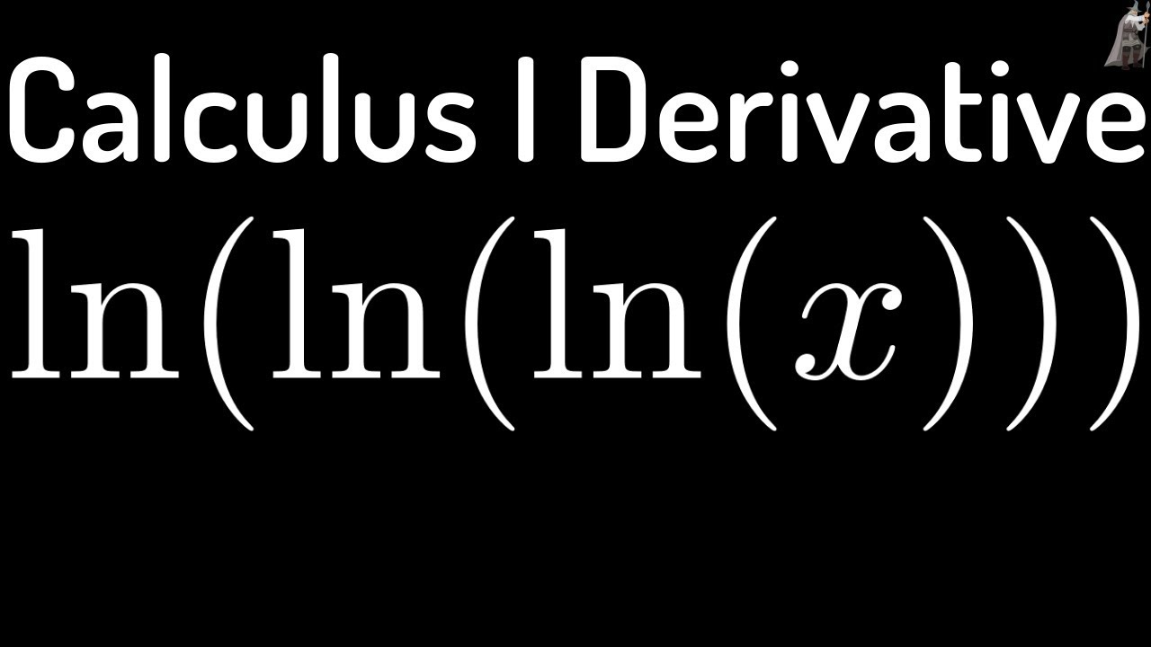 how to take derivative of ln