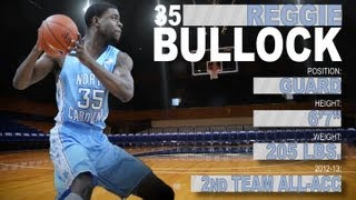 Official Highlights 2013 NBA Draft | Reggie Bullock - UNC |  | ACCDigitalNetwork