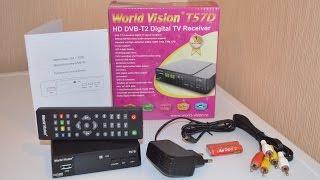 DVB-T2 Тюнер (ресівер) Т2 World Vision T57D - огляд та налаштування