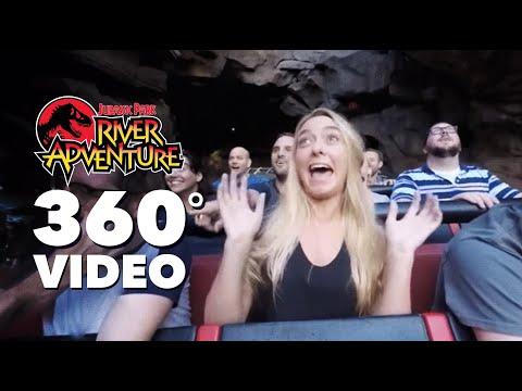 360 VIDEO: Jurassic Park River Adventure | Islands of Adventure