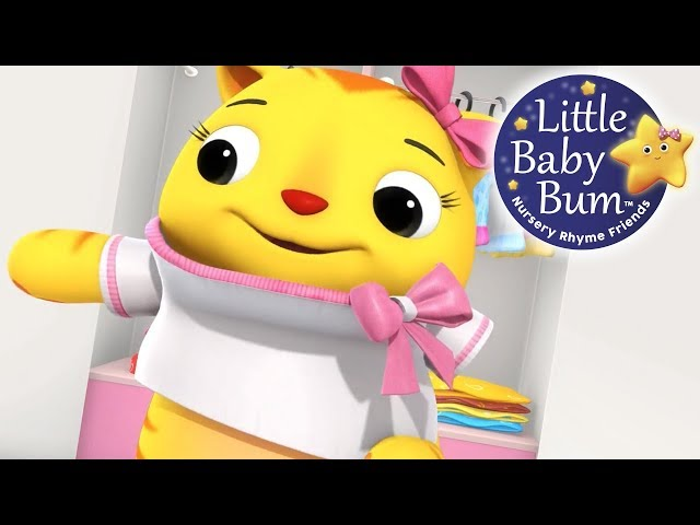 Getting Dressed Song | Part 2 | US Version | Nursery Rhymes by LittleBabyBum!