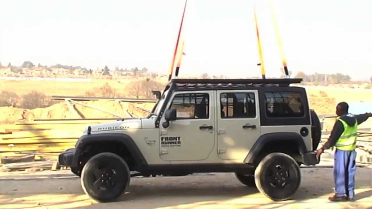 NEW JEEP ROOF RACK WTF!