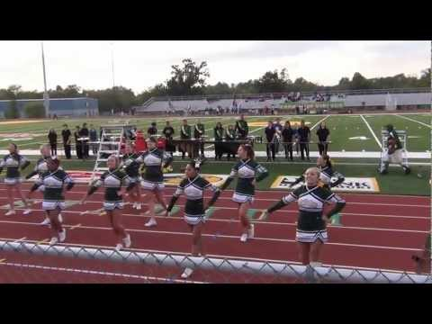 2012 Parkview Cheerleaders Football