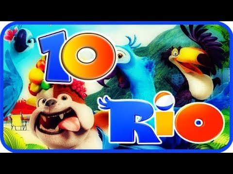 Rio Walkthrough Part 10 - Movie Party Game (PS3, X360, Wii) Story Mode 10: Carnaval