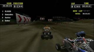 ATV Offroad Fury Pro Sony PSP Video - Over the Hills and