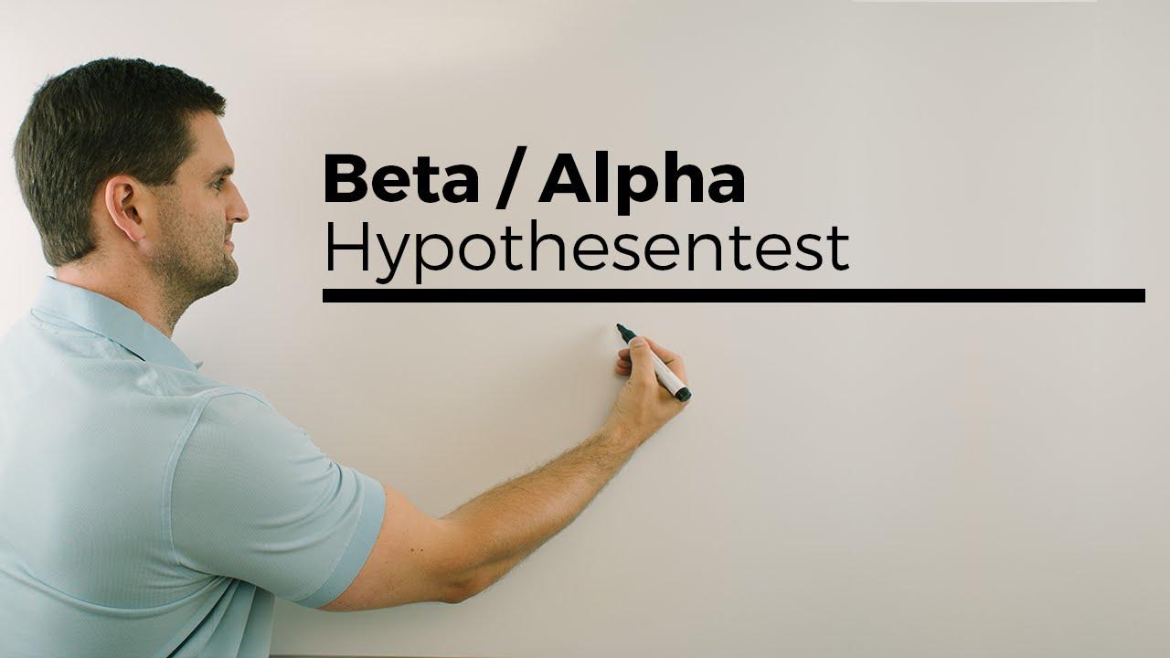 beta fehler 2 art alpha fehler 1 art hypothesentest stochastik mathe by daniel jung. Black Bedroom Furniture Sets. Home Design Ideas