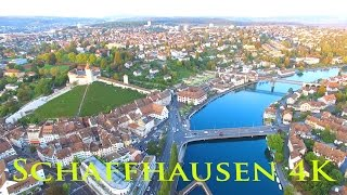 Schaffhausen in Switzerland from above - Schaffhausen von oben
