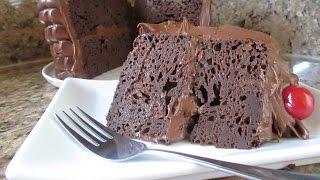 Pastel De Chocolate Doble Riquísimo Umm!! - Madelin's Cakes