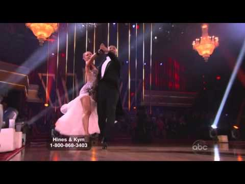 Hines Ward & Kym Johnson Dancing with the Stars Final quick step