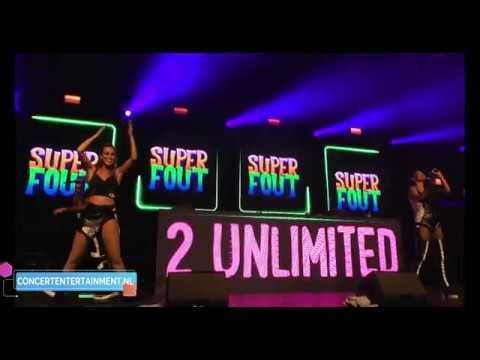 2 Unlimited No Limit Live Super Fout Hardenberg Youtube