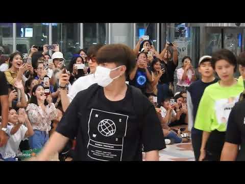 180805 Leeteuk Shindong Ryeowook back to Korea (O Shopping)