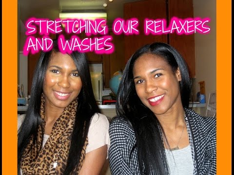 How We Stretch Our Washes & Relaxers | Hair Routine