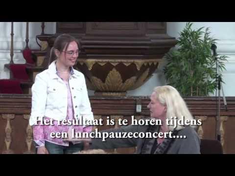 Masterclass Miranda van Kralingen in de Nieuwe Kerk in Zierikzee