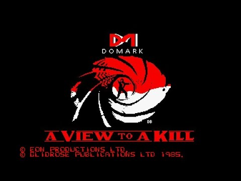 A View To A Kill Theme Music for the Amstrad CPC