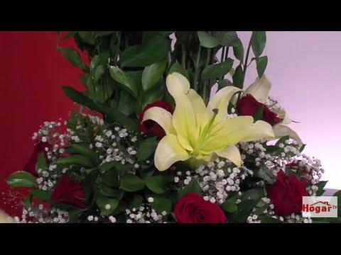 Como Hacer Un Arreglo Floral Con Rosas Rojas Para Cumpleanos Hogar